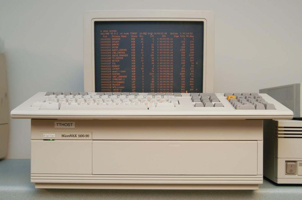 DEC MicroVAX 3100