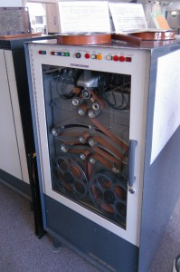 Elliott 803 tape storage unit that used 35mm film stock.