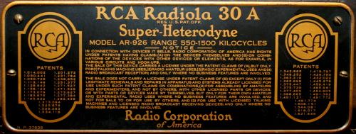 radiola-plate